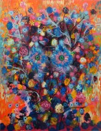 Virgen negra de LampedusaÓleo sobre tela /150 cm x 120 cm / 2014
