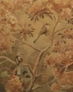 Pequeño árbol en flor  Técnica mixta sobre tela /  125 x 100 cm / 2014