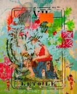 Sin título 3419 Acrílico sobre tela / 200 x 150 cm / 2012