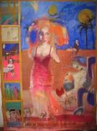 Tango 1Temple sobre tela /  150 x 210 cm / 2012