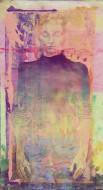 Eliana 1 Técnica mixta sobre papel 193 x 97 cm / 2013