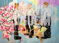 Sin título 3476  Acrílico sobre tela / 105 x 150 cm / 2014