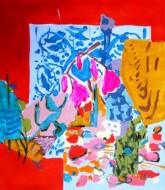 Sin título 3480  Acrílico sobre tela / 80 x 70 cm / 2014