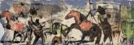 Sin título N° 3689Técnica mixta / 191 x 64 cm / 2014