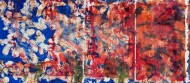 Sin título N° 3674 Técnica mixta / 445 x 193 cm /  2015