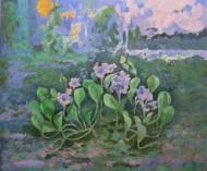 Camalote Pigmentos y acrílico sobre tela / 200 x 239 cm / 2009-11