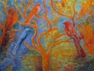 Cerca del rio Pigmentos y acrílico sobre tela / 180 x 235 cm / 2009-11
