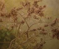 El árbol de invierno Acrílico sobre tela / 196 x 235 cm / 2012