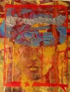 Eliana Técnica mixta sobre papel de acuarela / 40 x 50 cm / 2008