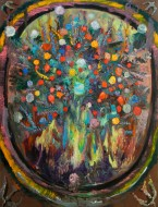 Florido 2 Óleo sobre tela / 200 x 150 cm / 2012