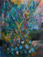 Jardín de azúcar Óleo sobre tela / 200 x 150 cm / 2012