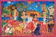 La comedia nacional Acrílico y temple sobre tela / 210 x 300 cm / 2010