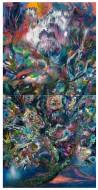 Pájaro  Óleo sobre tela / 2400 x 120 cm / 2012