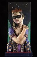 Reina de la noche Técnica mixta / 160 x 50 x 25 cm / 2010