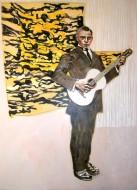 Retatos del espíritu del tiempo I Acrílico sobre tela / 150 x 110 cm / 2010