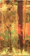 Serie newyorker I Técnica mixta sobre papel de acuarela / 97 x 184 cm / 2008