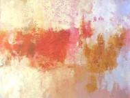 Sin título rojorosa 1 Técnica mixta sobre tela / 150 x 185 cm / 2009