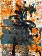 Sin título 3370 Técnica mixta sobre tela / 223 x 175 cm / 2011