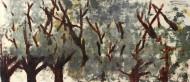 Sin título 3375Técnica mixta sobre tela / 180 x 470 cm / 2012