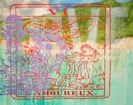 Sin título 3412 Acrílico sobre tela / 150 x 185 cm / 2012