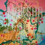Sin título 3415 Acrílico sobre tela / 150 x 150 cm / 2012
