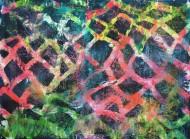 Sin título 3457 Técnica mixta sobre tela / 185 x 263 cm / 2013
