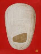 Gran Vendaje (Red Extended Mix Version) Acrílico sobre lienzo / 200 x 150 cm / 2008