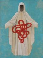Abrázame mucho Acrílico sobre lienzo / 200 x 150 cm / 2007