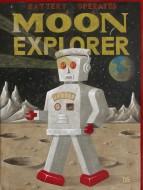 Moon explorer Acrílico sobre lienzo / 200 x 150 cm / 2009
