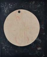 Gravedad V Acrílico, lápiz y óleo pastel sobre lienzo / 120 x 100 cm / 2013