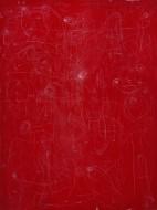 Gravedad  Acrílico sobre lienzo / 200 x 150 cm / 2012