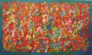 Fantasía del caminante II  Acrílico sobre tela / 90 x 150 cm / 2016