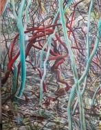 Sin  título Óleo sobre tela / 200 x 150 cm / 2017