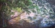 Sin  título Óleo sobre tela / 150 x 300 cm / 2013