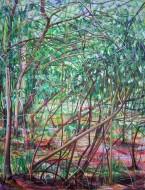 Sin  título Óleo sobre tela  / 2 x 1,5 cm / 2013