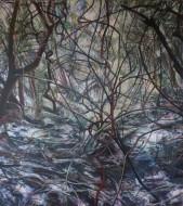 Sin  título Óleo sobre tela  / 2 x 1,8 cm / 2015