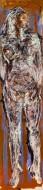 Desnudo Nº 2 / Técnica Mixta sobre tela / 50 x 200 cm / 2021