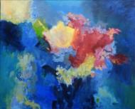 Explosión Óleo sobre lienzo /  110 x 130 cm / 2018