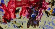 Sin Título / Técnica Mixta sobre tela / 130 x 250 cm / 2020