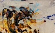 Sin Título / Técnica Mixta sobre tela / 130 x 260 cm / 2019