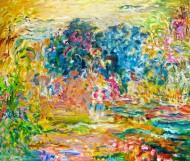 Colores en desorden Óleo sobre tela / 120 x 130 cm / 2012