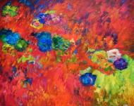 Profundos rojos Óleo sobre tela / 110 x 130 cm /  2013