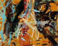 Sin Título / Díptico / Técnica Mixta sobre tela / 260 x 230 cm / 2019