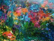 Azul profundo Óleo sobre tela / 130 x 110 / 2013
