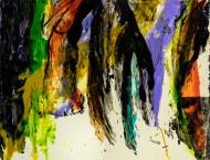 Nº 4326 / Técnica Mixta sobre tela / 200 x 266 cm / 2019