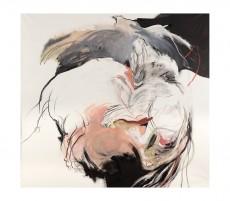 8 - Silencio blanco - Oleo y tiza sobre tela - 180 x 200 - 2015