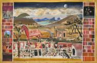 After Tucumán / Temple sobre tela / 198 x 303 cm / 2020