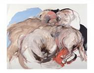 Instinto Óleo sobre lienzo / 250 x 200