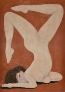 Acróbata 1  Acrílico sobre lienzo / 210 x 150 cm / 2015