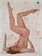 Acróbata 2  Acrílico sobre lienzo / 200 x 150 cm / 2015